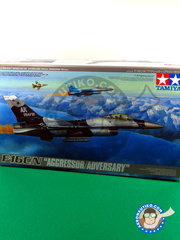 Tamiya: Airplane kit 1/48 scale - General Dynamics F-16 Fighting Falcon C/N - plastic model kit