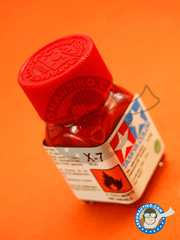 Tamiya: Enamel paint - X-7 - Red - 10 ml