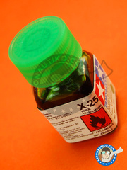 Tamiya: Enamel paint - X-25 - Clear Green - 10ml