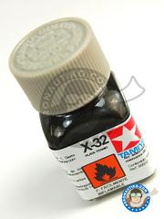 Tamiya: Enamel paint - Titanium silver X-32