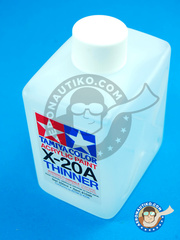 Tamiya: Thinner - Acrylic paint thinner X-20 - 250ml