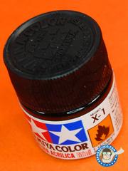 Tamiya: Acrylic paint - Black X-1