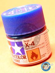 Tamiya: Acrylic paint - Blue X-4