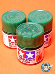 Tamiya: Acrylic paint - Green X-5