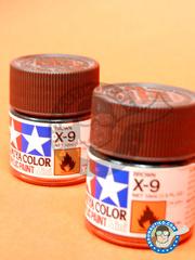 Tamiya: Acrylic paint - Brown X-9