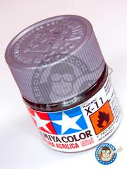 Tamiya: Acrylic paint - Chrome Silver X-11