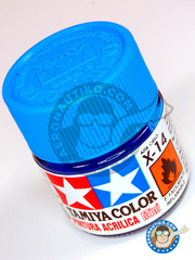 Tamiya: Acrylic paint - Sky Blue X-14 - for all kits