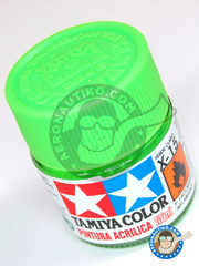 Tamiya: Acrylic paint - Light green X-15 - for all kits