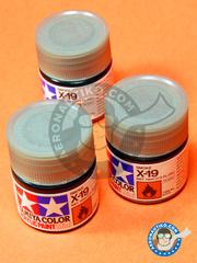 Tamiya: Acrylic paint - Smoke X-19