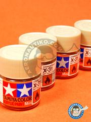 Tamiya: Acrylic paint - Titanium gold X-31