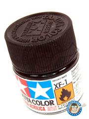 Tamiya: Acrylic paint - Flat Black XF-1