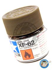 Tamiya: Acrylic paint - Olive Drab XF-62