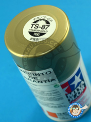 Tamiya: Spray - Titanium gold TS-87 - 100ml