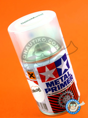 Tamiya: Primer - Metal Primer 100ml Spray - for all photo-etched and metallic spares