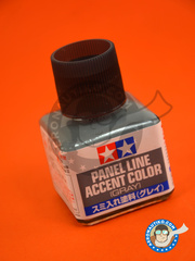 Tamiya: Paint -  Panel line accent color grey