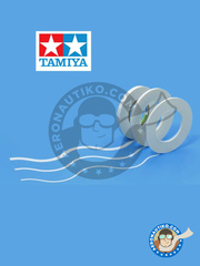 Tamiya: Masks - Masking tape for curves 2mm - paint masks - for all kits image