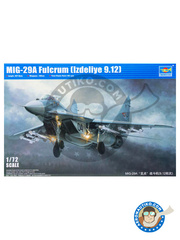 Trumpeter: Airplane kit 1/72 scale - Mikoyan MiG-29 Fulcrum