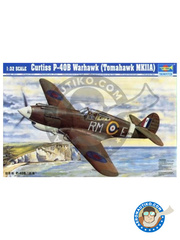 Trumpeter: Airplane kit 1/32 scale - Curtiss P-40 Warhawk B Tomahawk - plastic model kit