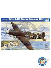 Trumpeter: Airplane kit 1/32 scale - Curtiss P-40 Warhawk B Tomahawk - Ukranian - plastic model kit