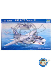 Trumpeter: Airplane kit 1/32 scale - Ling-Temco-Vought A-7 Corsair II E