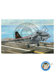 Trumpeter: Airplane kit 1/32 scale - Grumman A-6 Intruder E TRAMP