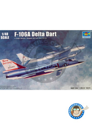 Trumpeter: Airplane kit 1/48 scale - Convair F-106 Delta Dart
