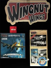 Wingnut Wings: Airplane kit 1/32 scale - Avro Lancaster B.Mk.III Dambusters - RAF - photo-etched parts, plastic parts, water slide decals and assembly instructions