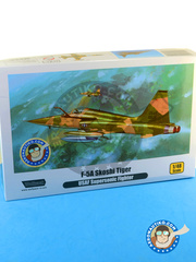 Wolfpack Design: Airplane kit 1/48 scale - Northrop F-5 A / C - USAF (US0) - Vietnam War 1966 - plastic and resin model kit image