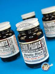 Zero Paints: Paint - Metallic Black - Similar to TS-40 60ml - for Airbrush