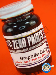 Zero Paints: Paint - Graphite Grey - 60ml - for Airbrush
