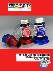 Zero Paints: Paint - AN fitting clear red