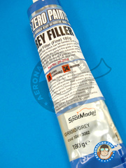 Zero Paints: Putty - Grey Filler Fine - 180 grs