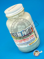 Zero Paints: Primer - Grey Primer Micro Filler - 120ml - for Airbrush