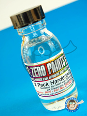 Zero Paints: Clearcoat - Spare Hardener for 2 Pack GLOSS Clearcoat Set - 60 ml - for Airbrush