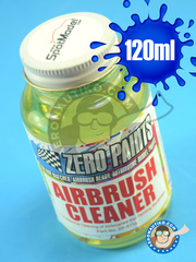 Zero Paints: Acrylic paint - Airbrush Cleaner - 120ml - for Airbrush
