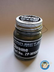 Zero Paints: Paint - Chrome - Cromo | New 2018 - 35ml Jar - for all kits