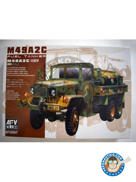 M-49A2C Fuel Tanker | Truck in 1/35 scale manufactured by AFV Club (ref. AF35007) image