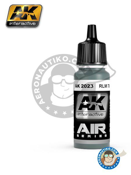 RLM 78 | Air Series | Acrylic paint manufactured by AK Interactive (ref. AK-2023) image