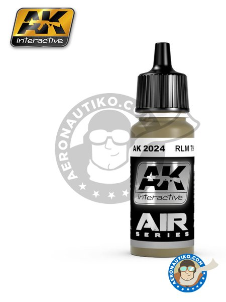 RLM 79 | Air Series | Acrylic paint manufactured by AK Interactive (ref. AK-2024) image