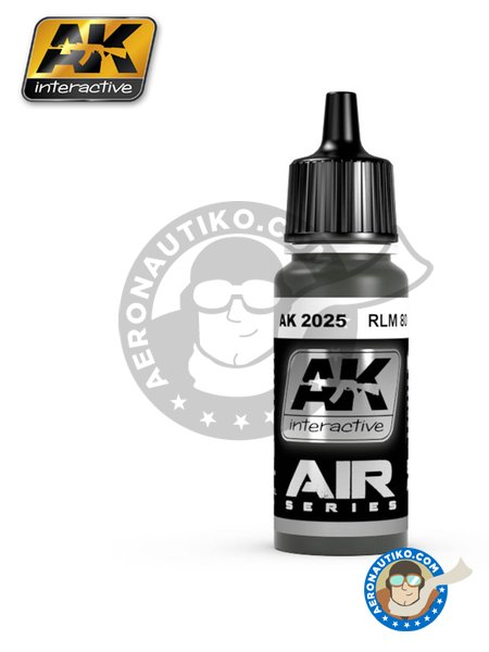 RLM 80 | Air Series | Acrylic paint manufactured by AK Interactive (ref. AK-2025) image