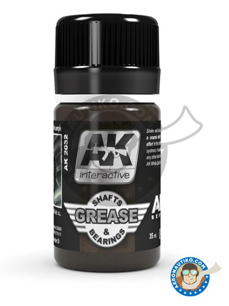 Shafts and Bearings Grease | Air Series | AK Weathering efect product manufactured by AK Interactive (ref. AK-2032) image