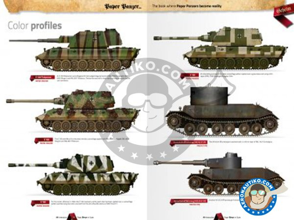 Image 2: Paper Panzer: Prototypes & What If Tanks | Book manufactured by AK Interactive (ref. AK-246)