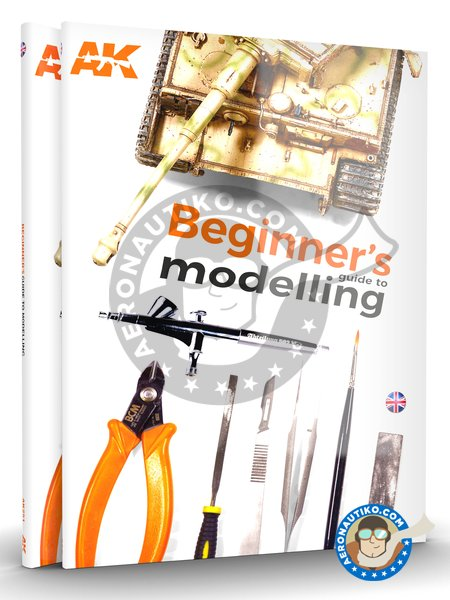 Beginner's Guide to Modelling | Book manufactured by AK Interactive (ref. AK-252) image