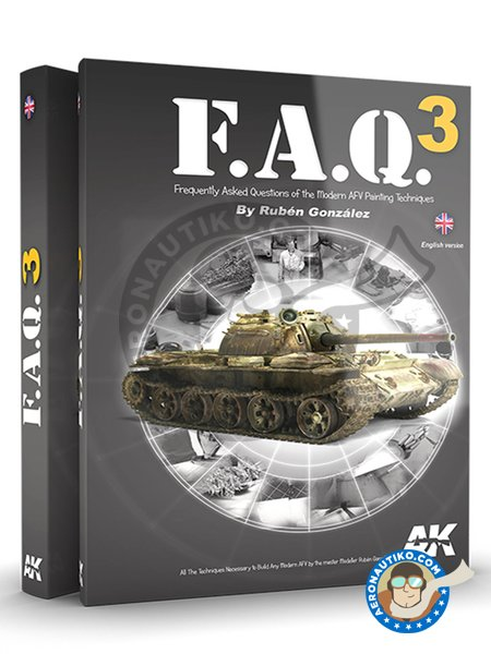F.A.Q. 3 Modern military vehicles. | Book manufactured by AK Interactive (ref. AK-288) image