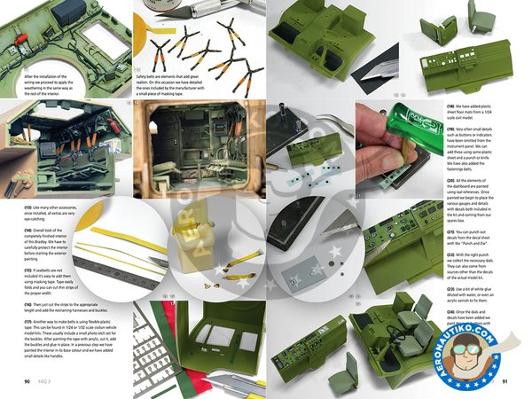 Image 11: F.A.Q. 3 Modern military vehicles. | Book manufactured by AK Interactive (ref. AK-288)