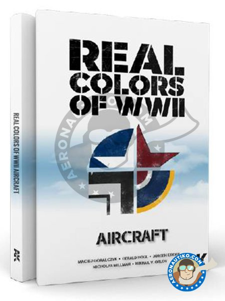 Book Real Colors of WWII aircraft. | Book manufactured by AK Interactive (ref. AK-290) image