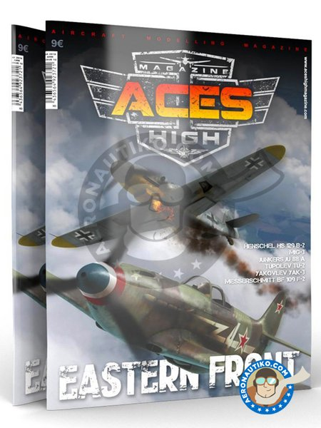 Magazine Aces High Eastern Front | Book manufactured by AK Interactive (ref. AK-2919) image