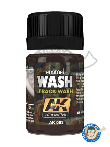 Track Wash | Paint manufactured by AK Interactive (ref. AK083) image