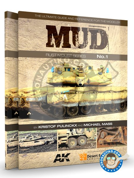 MUD. RUST & DUST Series VOL.1 | Book manufactured by AK Interactive (ref. AK253) image