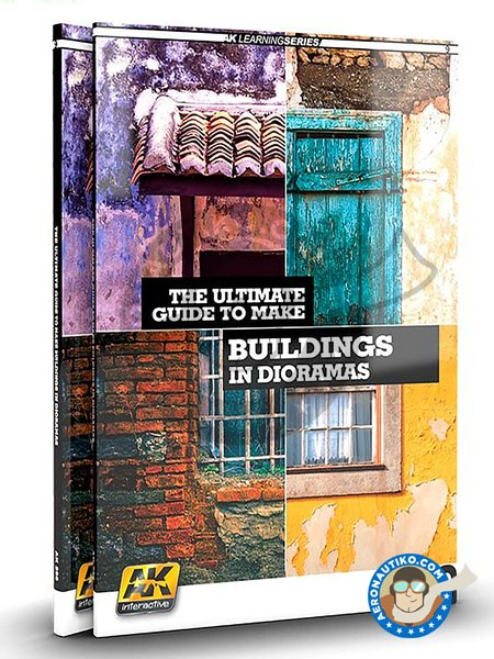 Make buildings in dioramas | Book manufactured by AK Interactive (ref. AK257) image